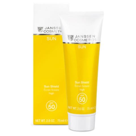 Эмульсия для лица и тела с максимальной защитой SPF 50 Janssen Sun Shield SPF 50,75 мл.