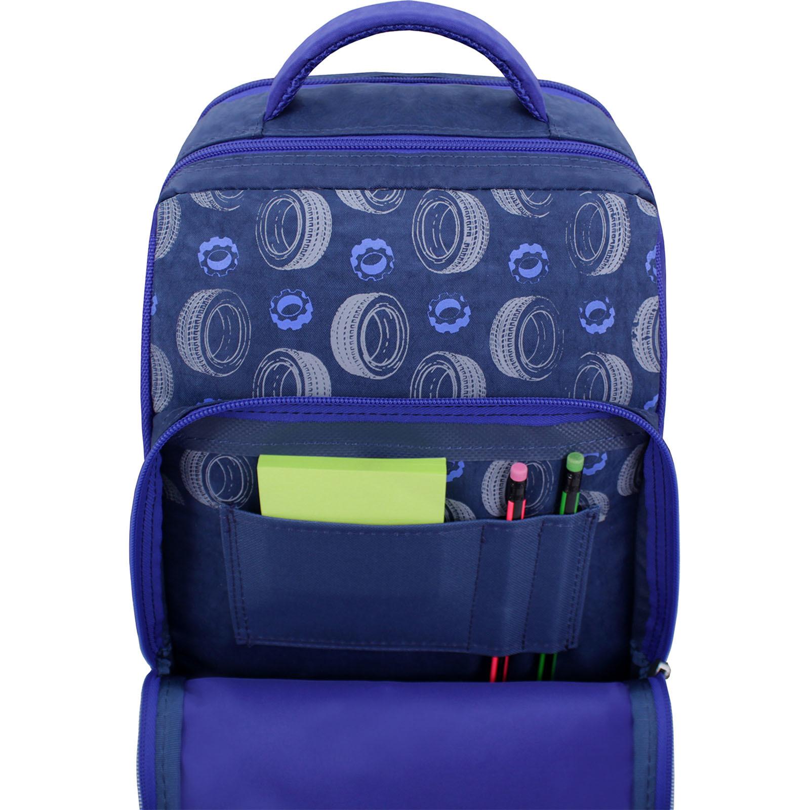Рюкзак школьный Bagland Школьник 8 л. 225 синий 551 (00112702) фото 4