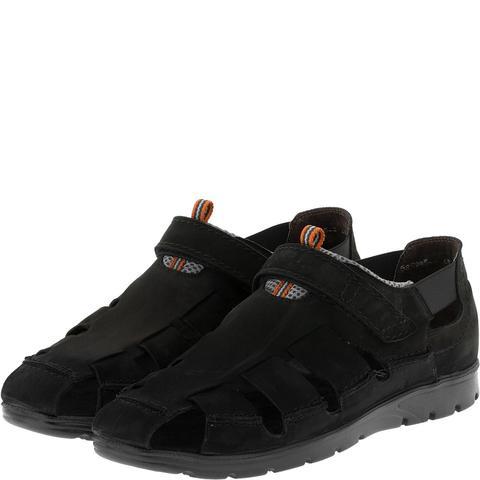 586285 Сандалии мужские черные. КупиРазмер — обувь больших размеров марки Делфино