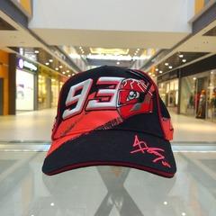 Мото кепка Marquez 93 черная
