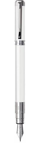 *Перьевая ручка Waterman Perspective, цвет: White CT, перо: F123
