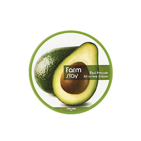 FARM STAY Антивозрастной крем с экстрактом авокадо Real Avocado All-In-One Cream, 300мл