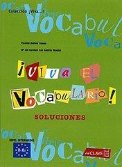 Viva El Vocabulario! Intermedio Solucionario