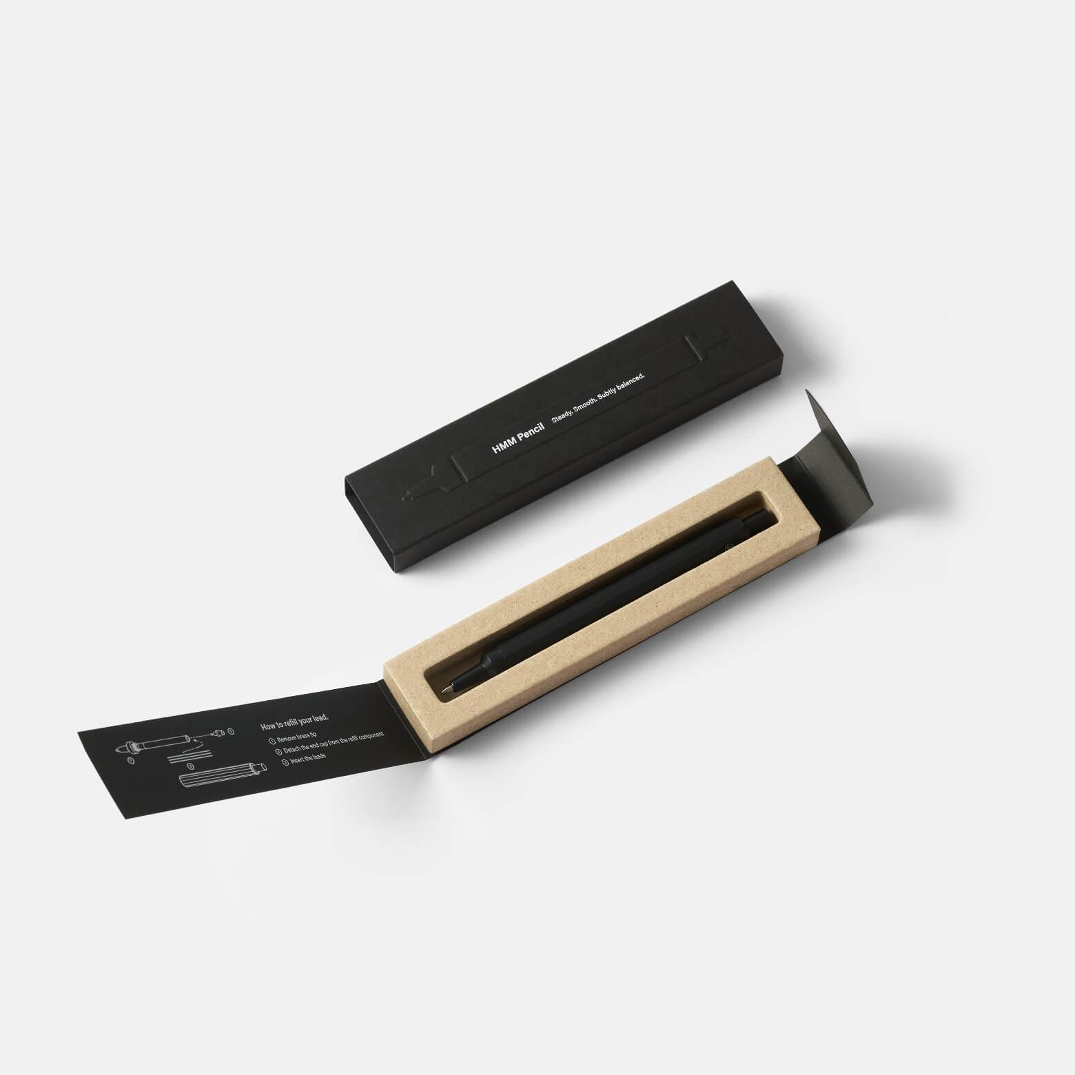Pencil Black — механический карандаш из алюминия