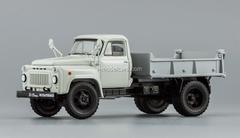 GAZ-52-02 SAZ-3504 Tipper 1974 white-gray DIP 1:43