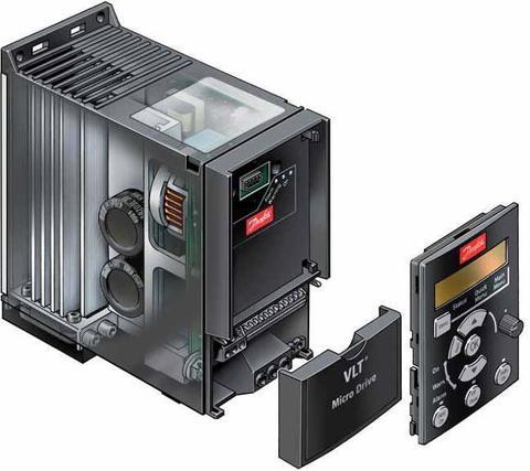 Частотный преобразователь Danfoss VLT Micro Drive FC 51 0,18 кВт (200-240, 1 фаза) 132F0001