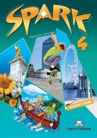 Spark 4 (Monstertrackers). Student's Book. Учебник