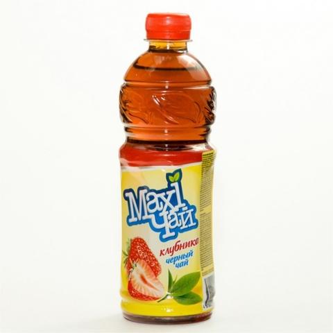 Чай холодный MAXI черный Клубника 0,45 л КАЗАХСТАН