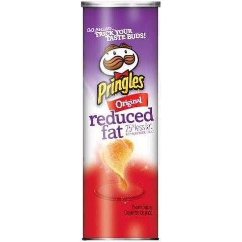 Чипсы Pringles Original reduced fat Принглс с пониженным содержанием жира 149 гр