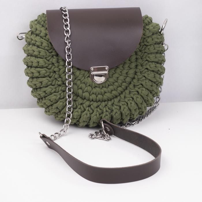 """Каталог Комплект для сумочки Орео """"Темно-коричневый"""" N2 IMG_9983.jpg"""
