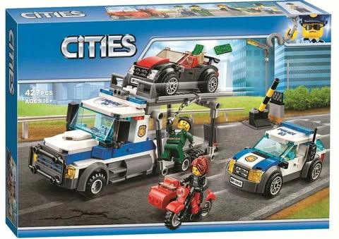 Конструктор Cities 10658 Ограбление грузовика