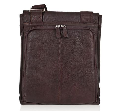 Сумка Piquadro Vibe, коричневая, 25,5x30,5x4 см