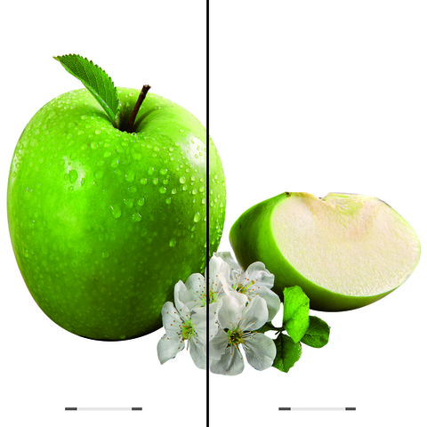 Кухня Олива ШВ 600 Шкаф верхний - яблоко