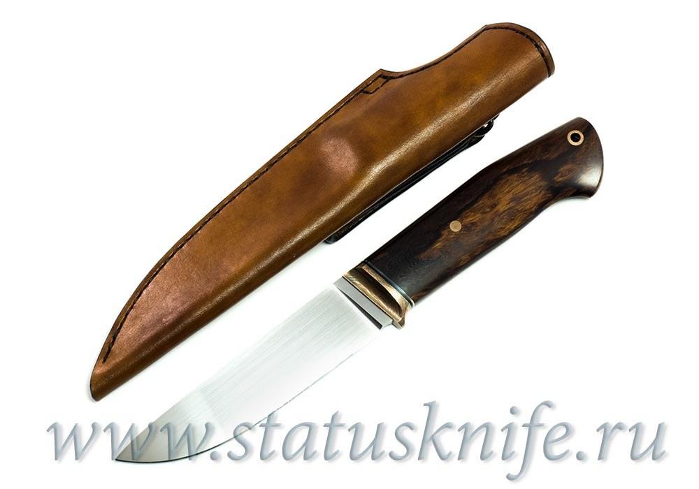 Нож авторский S125VN мокуме ironwood - фотография