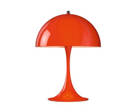 Настольный светильник копия Panthella by Verpan Panton (красный)