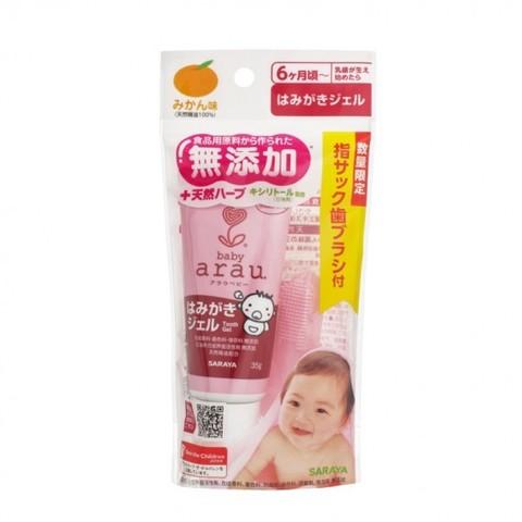 Зубная паста-гель для малышей SARAYA 35 гр