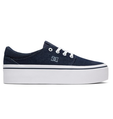 Кеды DC Shoes TRASEPLTFM TXSE J SHOE DNM DENIM