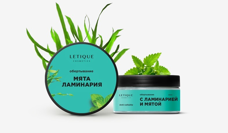 Обертывание Letique Cosmetics Мята Ламинария  200 мл