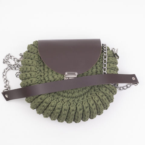 "Комплект для сумочки Орео ""Темно-коричневый"" N2"