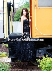 Вероника в платье Jovani 172008