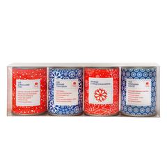 Чайный набор Ассорти с печеньем на Новый год