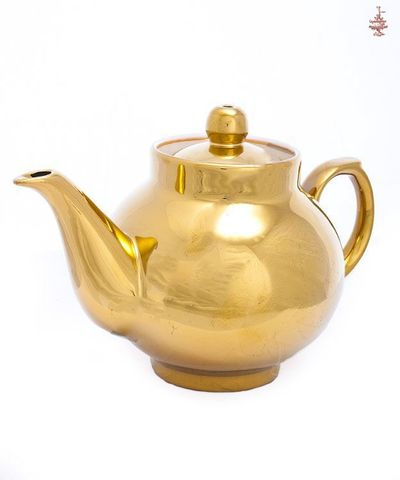 Чайник заварочный золотистый