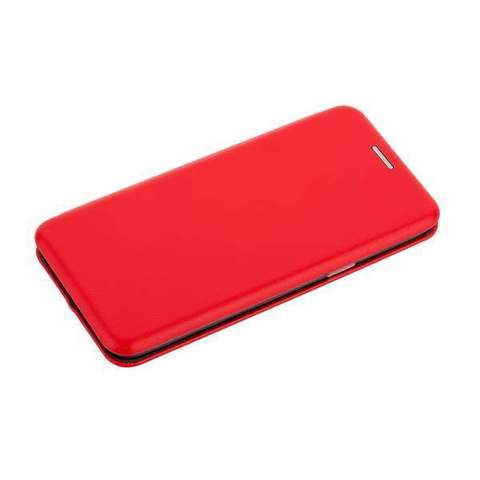 Чехол-книжка кожаный Fashion Case Slim-Fit для Samsung Galaxy S9+ Black Красный