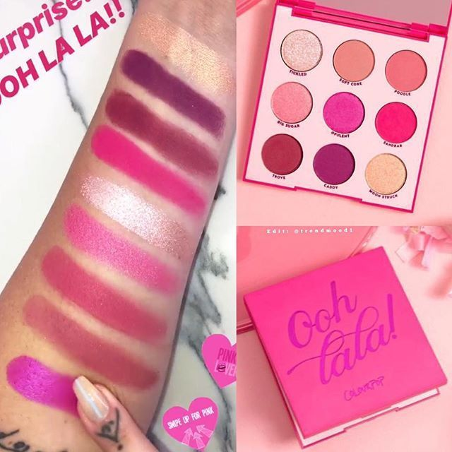 ColourPop Ooh La La palette