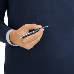 Шариковая ручка PIX синего цвета