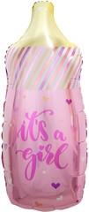 К Мини-фигура, Бутылочка для малышки (звездочки), Розовый, 17/43 см, 5 шт, 1 уп.