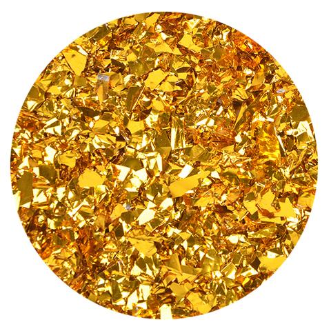 Блестки Золото 0,1-0,5 см