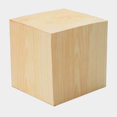 Куб деревянный, покрыт лаком, размер 400х400х400мм