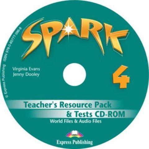 Spark 4. Teacher's resource pack & tests Cd-rom (international/monstertrackers). CD-ROM для учителя к тестовым заданиям с дополнительными материалами