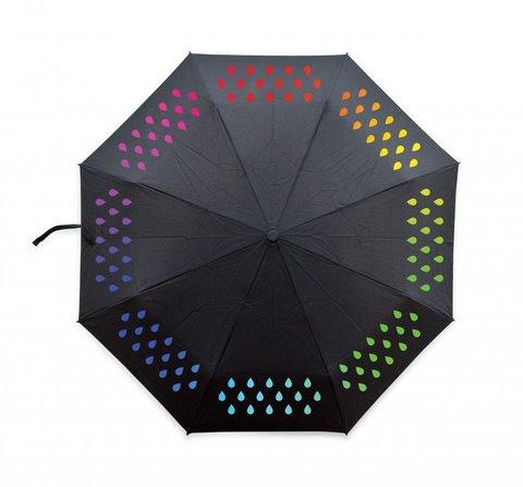 Зонт меняющий цвет