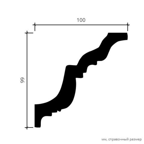 Карниз гибкий 1.50.116