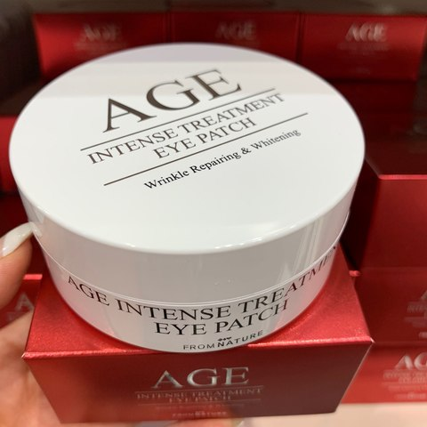 From Nature age intense treatment patch 60ea