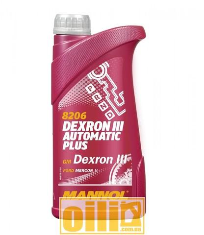 Mannol 8206 DEXRON III AUTOMATIC PLUS 1л