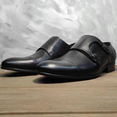 Кожаные туфли мужские классические Ikoc 2205-1 BLC.