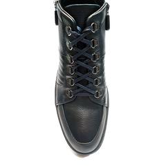 Высокие кожаные кроссовки Luca Guerrini 9233