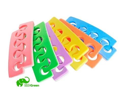 Разделители для пальцев ног (цветные)
