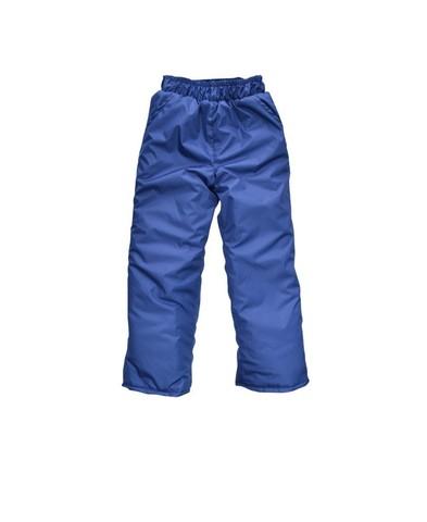 Брюки детские утеплённые синие