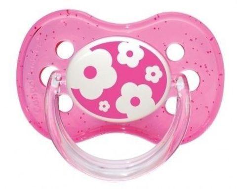 Canpol. Пустышка Nature круглая силиконовая, 0-6 мес., розовый