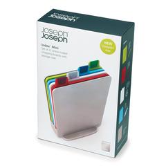 Набор разделочных досок Joseph Joseph Index™ Mini серебристый 60097