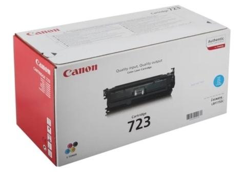 Оригинальный картридж Canon 723C 2643B002 голубой