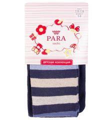 Колготки для девочки Синий-полоска Para socks