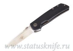 Нож Bob Terzuola ATCF Tanto CF Black Drop