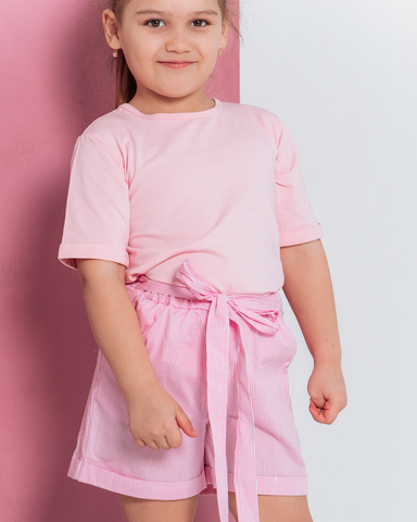 Футболка базовая, цвет Розовый