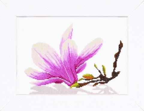 производитель LANARTE¶артикул 35109¶размер 20х 20¶техника счетный крест¶тематика цветы¶В составе наб