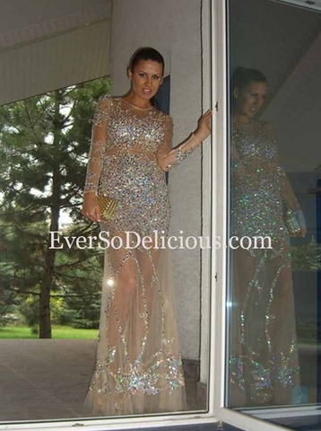 Евгения в платье Jovani 9503