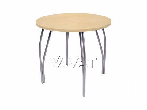 Стол обеденный круглый LС (OC-11) Медовое дерево